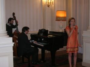 Vincent Laissy, Marguerite Chauvin et Esteban